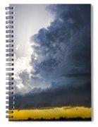 Last Nebraska Supercell Of The Summer 038 Spiral Notebook