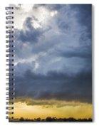Last Nebraska Supercell Of The Summer 042 Spiral Notebook