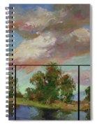 Last Of Sand Creek  - Plein Air Spiral Notebook