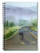 Last Of The Day Temescal Canyon Spiral Notebook