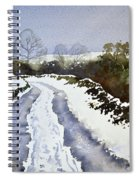 Last Of The Snow Spiral Notebook
