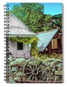 Last Post Office And Ice House Spiral Notebook