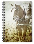 Last Row Spiral Notebook