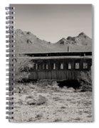Last Stop Tucson Spiral Notebook