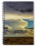 Last Storm Chase Of 2017 001 Spiral Notebook