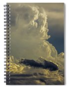 Last Storm Chase Of 2017 002 Spiral Notebook