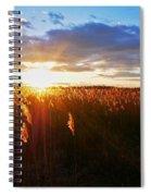 Last Sunset, Plum Island Spiral Notebook