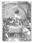 Last Supper 1510 Spiral Notebook