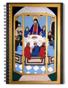 Last Supper Spiral Notebook