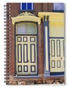 Late 1800s Door Spiral Notebook