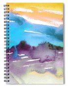 Late Afternoon 12 Spiral Notebook