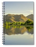 Late Afternoon At Rio Verde River Spiral Notebook