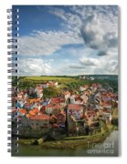 Late Afternoon Light On Staithes Spiral Notebook