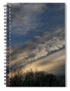 Late Afternoon Sky Spiral Notebook