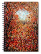 Late Autumn Spiral Notebook