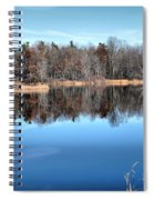 Late Autumn Reflections Spiral Notebook
