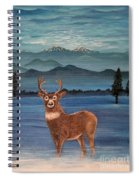 Late Autumn Sunrise Spiral Notebook