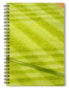 Late In The Day Shadow Spiral Notebook