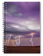 Late July Storm Chasing 086 Spiral Notebook