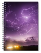 Late July Storm Chasing 088 Spiral Notebook