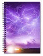Late July Storm Chasing 089 Spiral Notebook