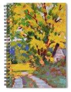 Late Morning Light Spiral Notebook