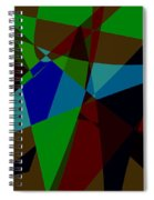 Late Party Spiral Notebook