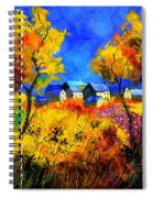 Late Summer 885180 Spiral Notebook