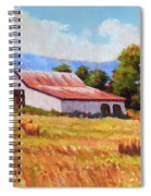 Late Summer Hay Spiral Notebook