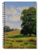 Late Summer Pastoral Spiral Notebook