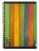 Lathe1 Bail And Girl Spiral Notebook