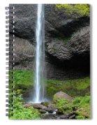 Latourell Falls, Oregon Spiral Notebook