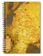 Latvia And Lithuania Spiral Notebook
