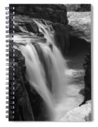 Laugafell Mountain Lodge Waterfalls Iceland 3146 Spiral Notebook