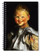 Laughing Child 1907 Spiral Notebook