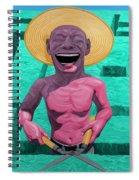 Laughing Gardener Spiral Notebook