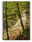 Laughing Whitefish Falls 2 Spiral Notebook