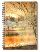 Laughter Amongst Trees Spiral Notebook