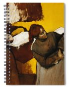 Laundresses Spiral Notebook