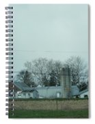 Laundry Day At The Dairy Farm Spiral Notebook