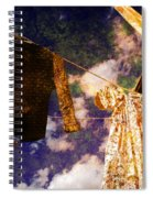 Laundry Day In China Town Spiral Notebook