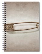 Laundry Pin Spiral Notebook