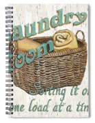 Laundry Room Sorting It Out Spiral Notebook