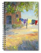 Laundry Yard Spiral Notebook