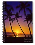 Launiupoko Sunset Spiral Notebook