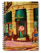 Laura Secord Candy And Cone Shop Spiral Notebook