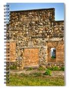 Laura Town Ghost Town In Arkansas  Spiral Notebook