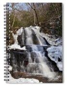 Laurel Falls In Gatlinburg Tennessee Spiral Notebook