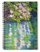 Laurel Reflection Spiral Notebook
