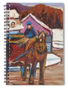 Laurentian Carriage Ride Spiral Notebook